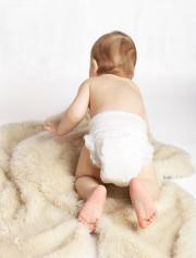 Babys leiden in den ersten Monaten öfter unter Blähungen.